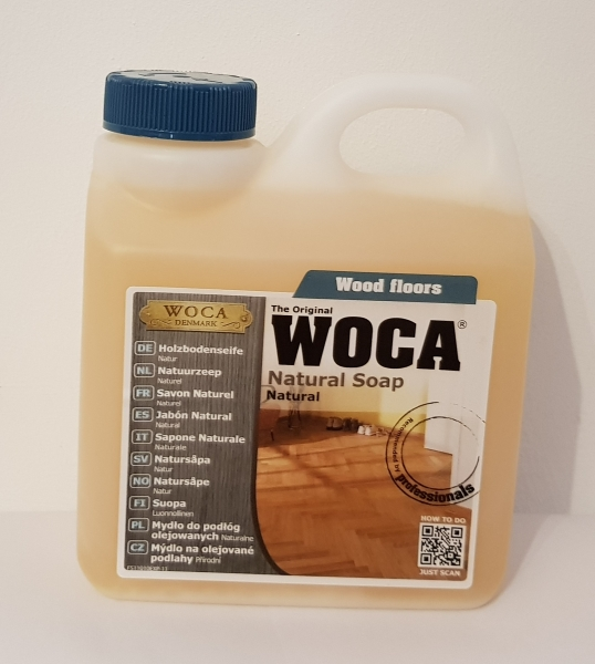 Woca - Holzbodenseife natur